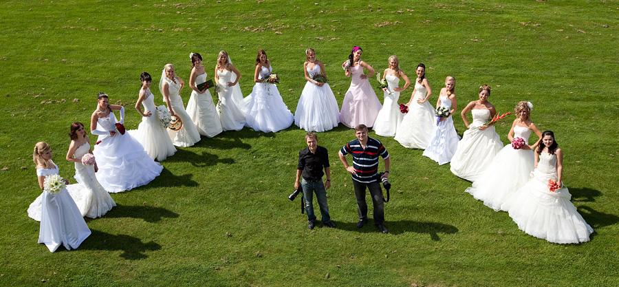 Das Team der Brautparade 2010