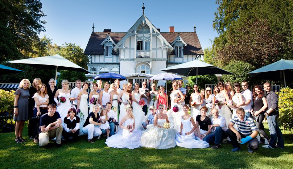 Das Team der Brautparade 2011