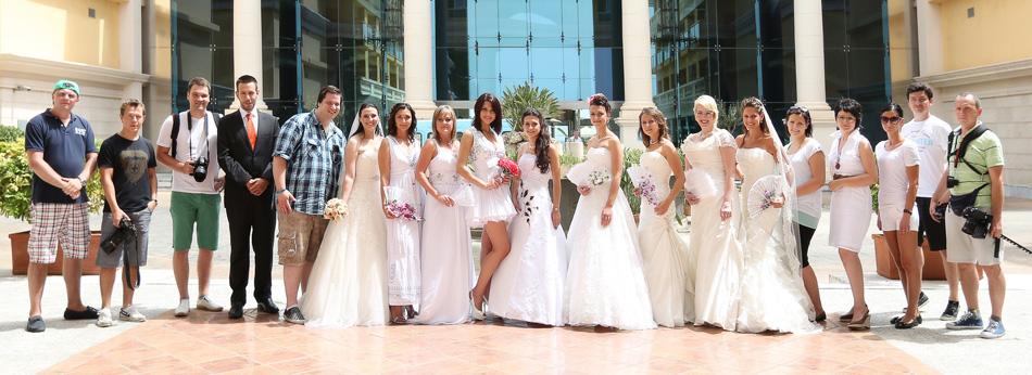 Das Team der Brautparade 2012